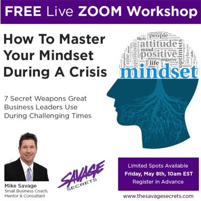 Free Savage Secrets Zoom Workshop May 8