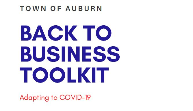 Town Publishes 'Back to Business' toolkit