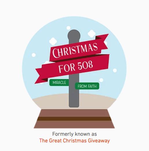 Faith Church Seeking 'Christmas for 508' Volunteers