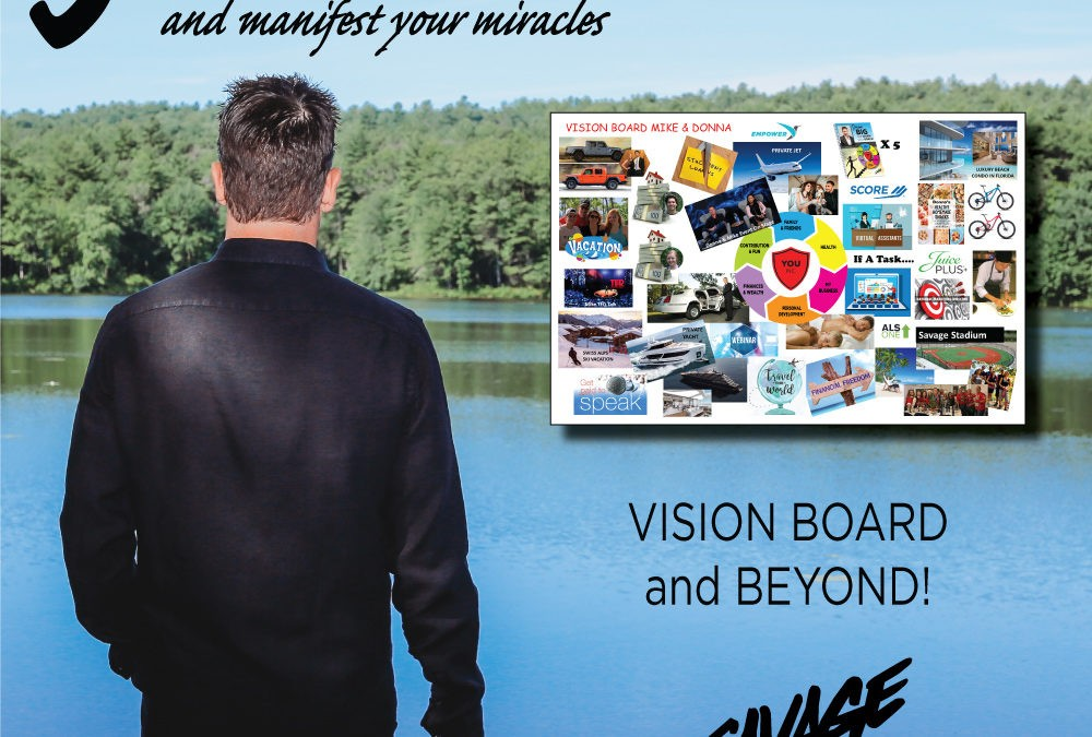 Vision Board – How the Greatest Entrepreneurs Manifest Their Miracles