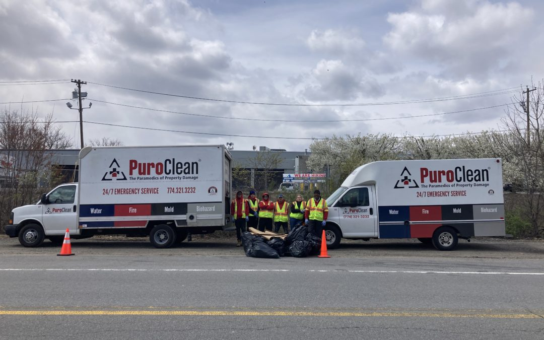PuroClean Crew Tackles Trash on Earth Day